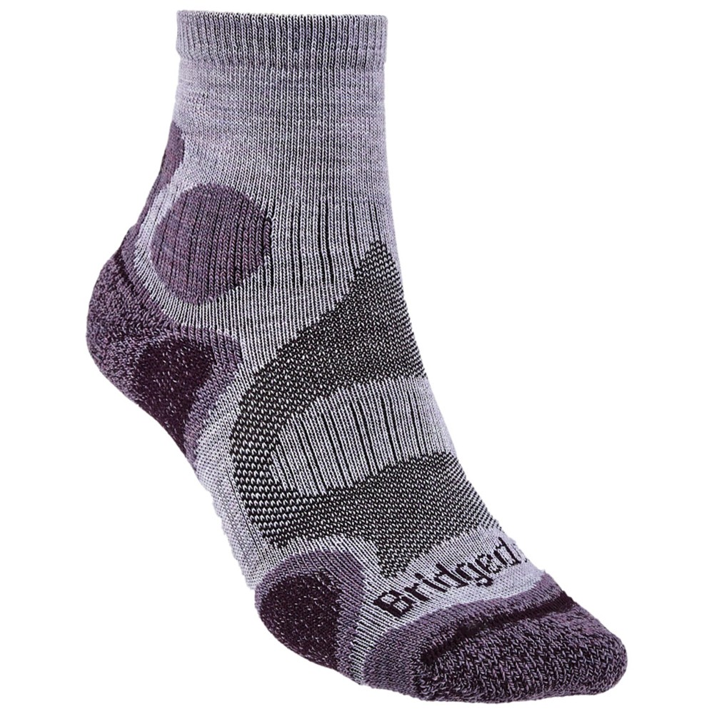 Bridgedale Trailsport LW T2 Merino Womens Heather/Damson