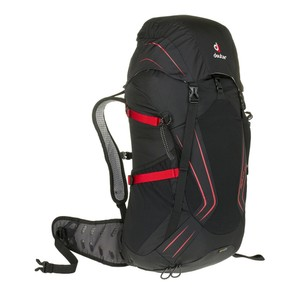 Deuter Helium 34 in Black/Fire
