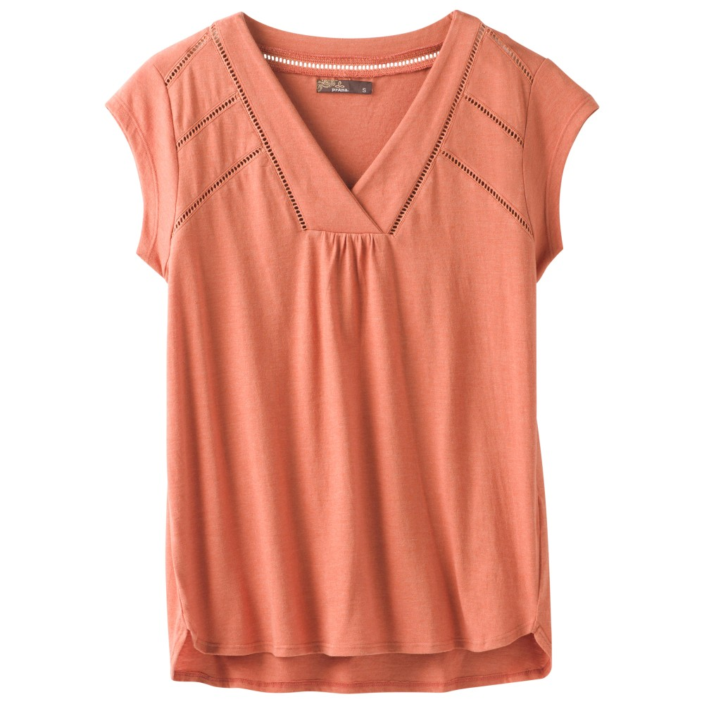 Prana Novelle Top Womens Toasted Terracotta