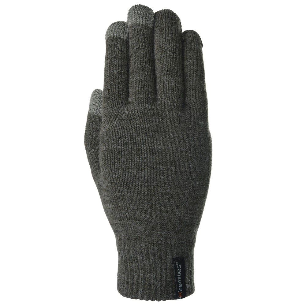 Extremities Thinny Touch Glove Charcoal