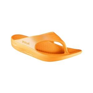 Telic Telic Flip Flop in Sweet Tangerine