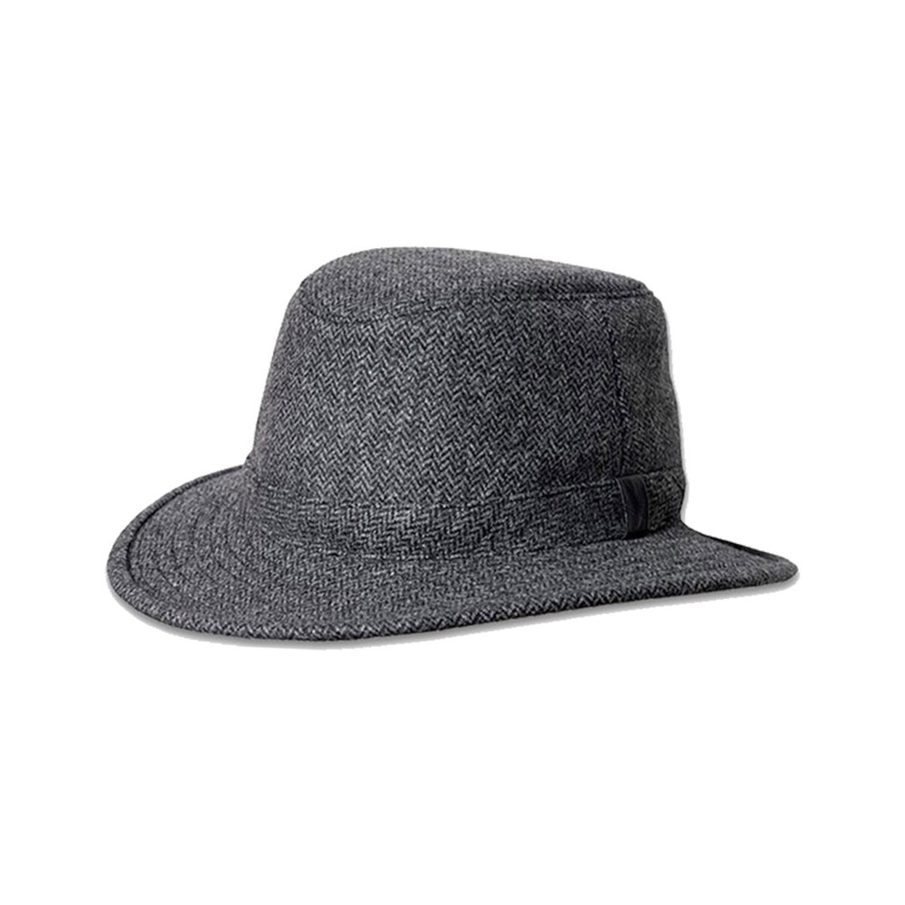 Tilley Endurables Tec Wool Hat Grey/Black Herringbone