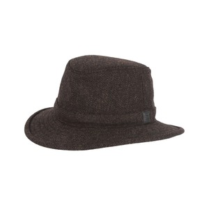 Tilley Endurables Tec Wool Hat in Olive Herringbone