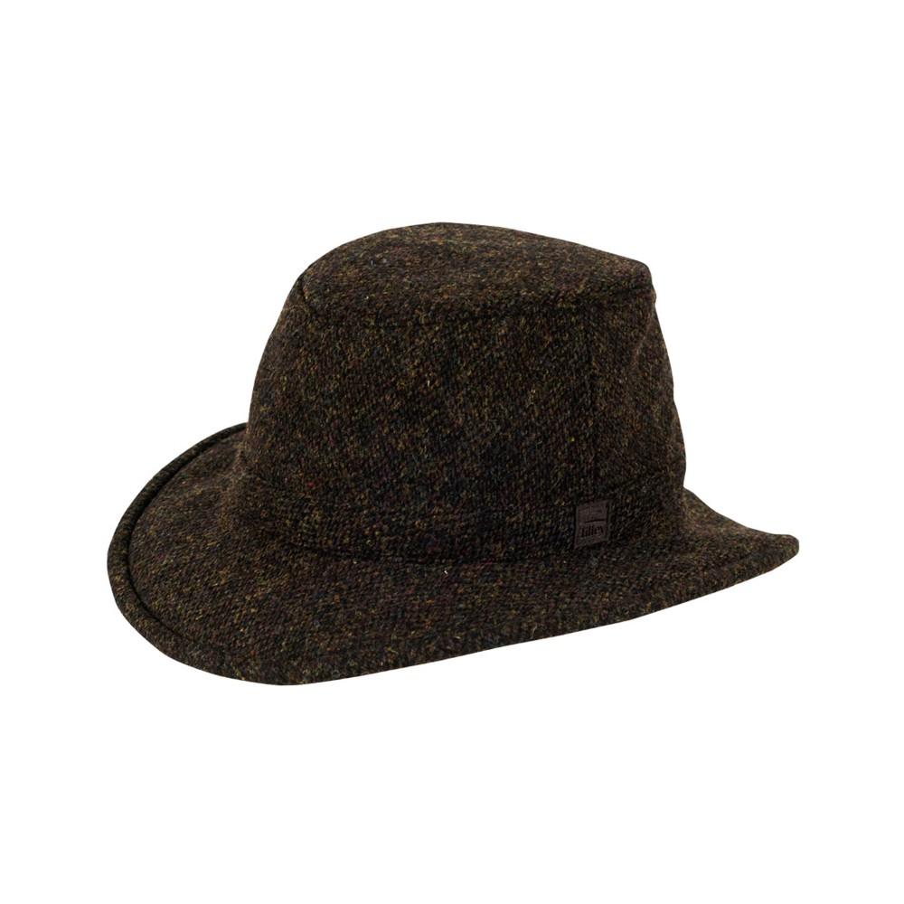 Tilley Endurables Winter Hat Harris Tweed Multi Mix