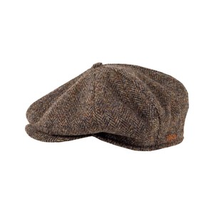 b1ae13769fcae Tilley Winter Harris Tweed Classic Newsboy Cap - The Epicentre
