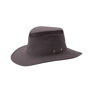 Tilley Endurables T4MO-1 The Hiker Broad Curved Brim in Grey