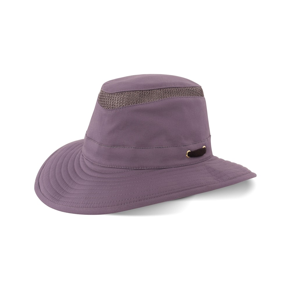 Tilley Endurables T4MO-1 The Hiker Broad Curved Brim Purple Haze