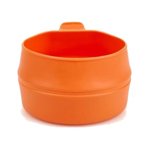 Wildo Fold-A-Cup in Orange