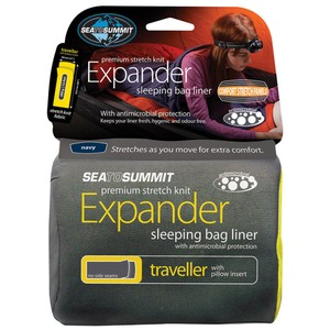 Expander Liner- Traveller with Pillow Slip Navy Sea Foam
