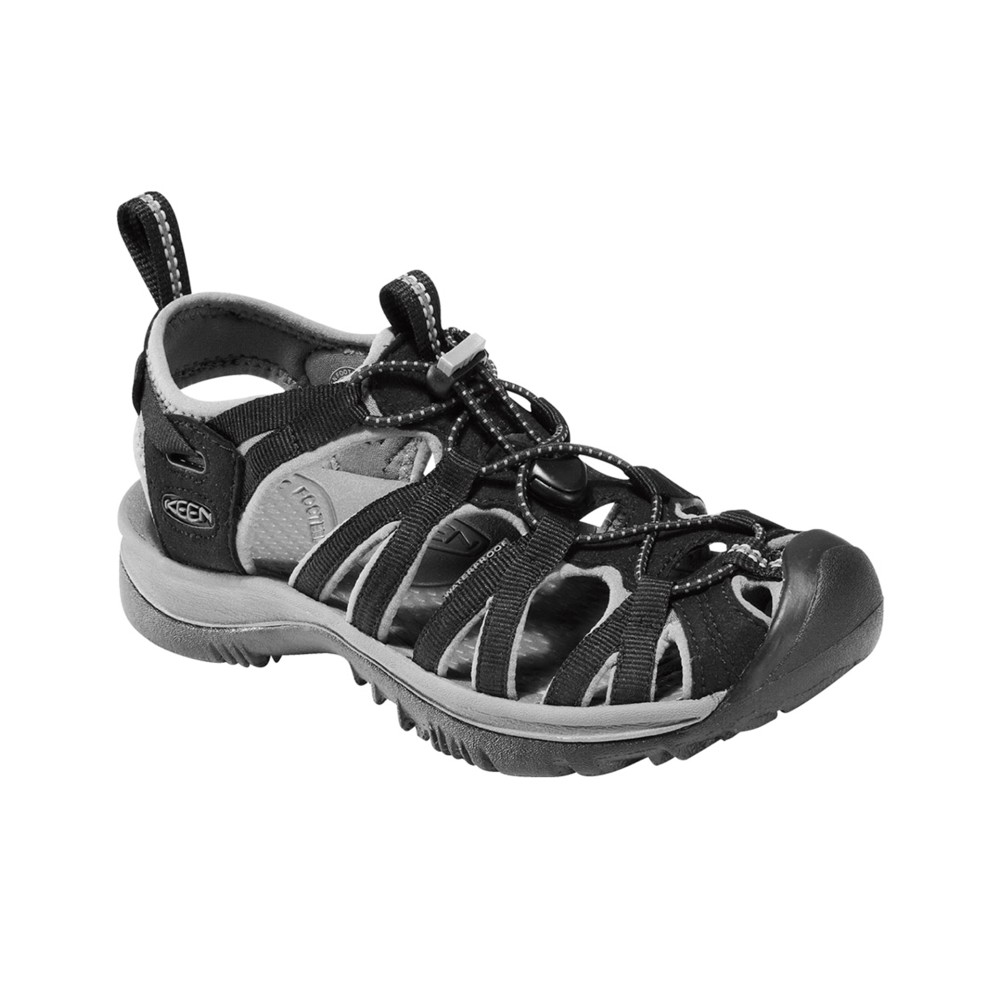 Keen Whisper Womens Black/Gargoyle