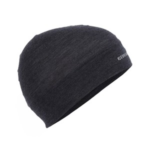 Icebreaker Flexi Beanie in Black Heather