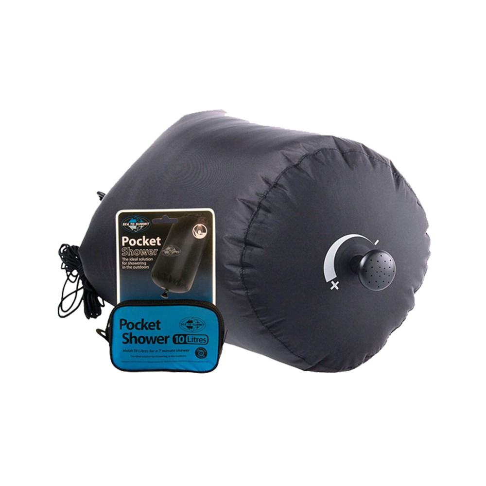 Sea To Summit Pocket Shower Black