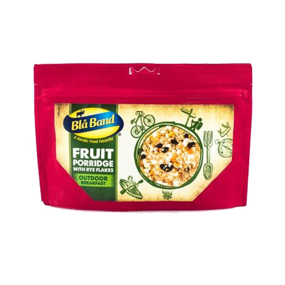 Bla Band Fruit Porridge Rye Flakes N/A