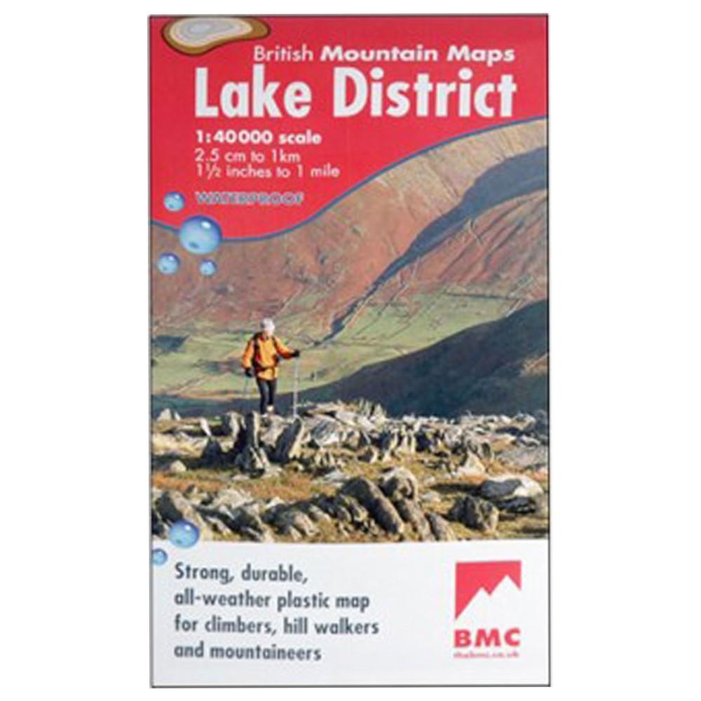 Harveys Maps BMC Lakes Map N/A