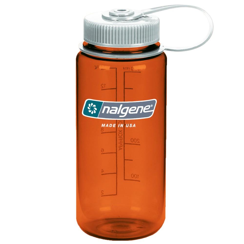 Nalgene Wide Mouth Tritan 500ml Rustic Orange w/Silver Closure