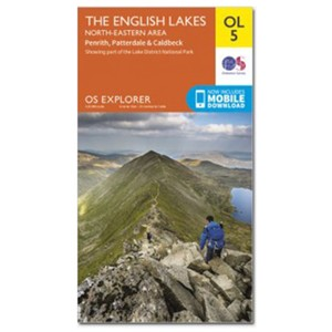 Ordnance Survey Explorer OL5 - NE Lakes