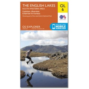 Ordnance Survey Explorer OL6 - SW Lakes