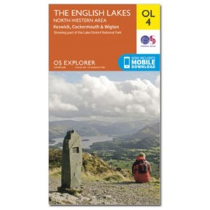 Ordnance Survey Active Explorer OL4 NW Lakes