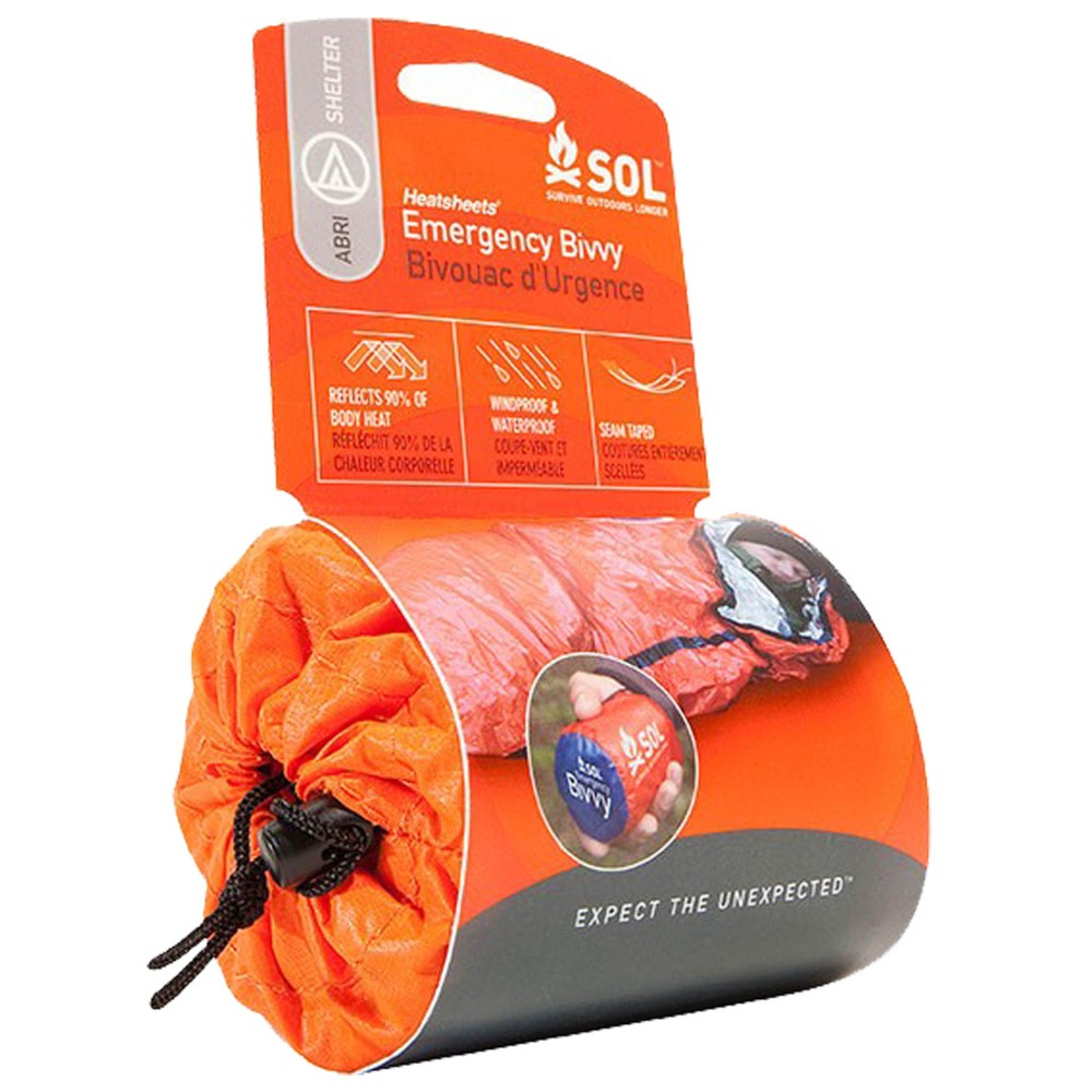 Sol Emergency Bivvy - 1 person Orange
