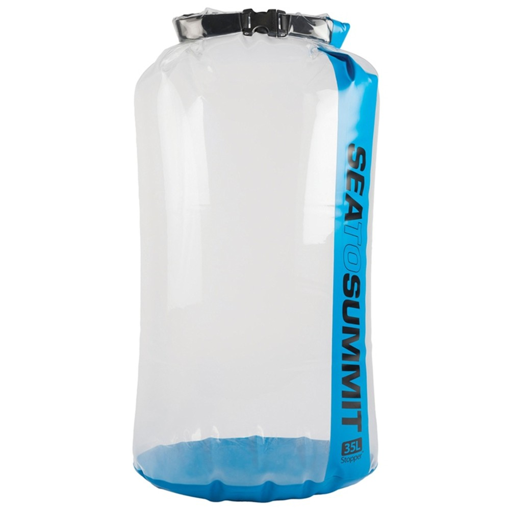 Sea To Summit Clear Stopper Dry Bag Blue