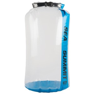 Sea To Summit Clear Stopper Dry Bag  in Blue