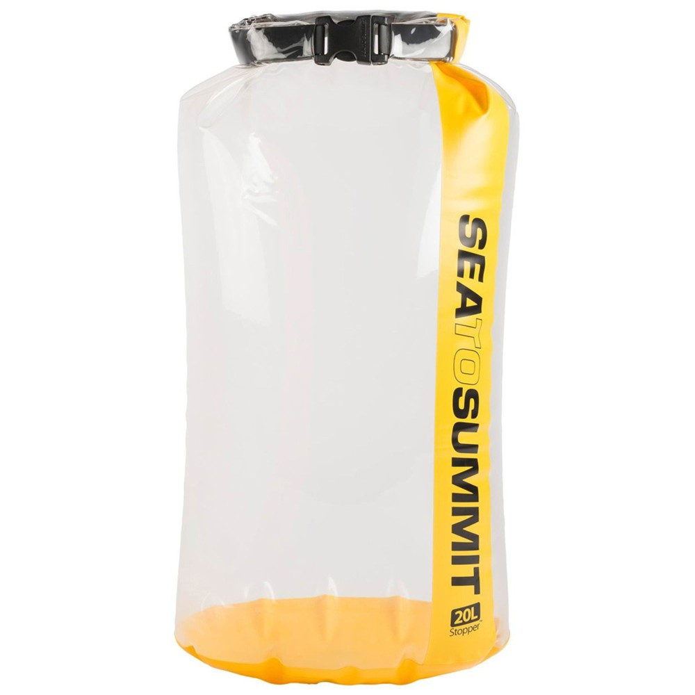 Sea To Summit Clear Stopper Dry Bag Yellow