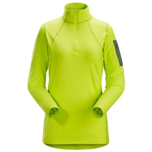 Arcteryx  Rho LT Zip Neck Womens in Titanite