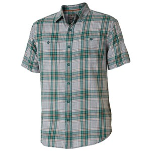 Royal Robbins Point Reys Plaid SS Mens