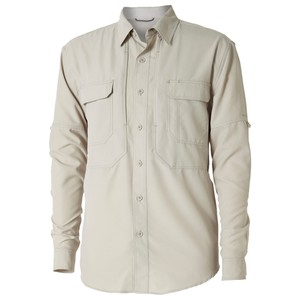 Royal Robbins Expedition Chill L/S Mens in Soapstone