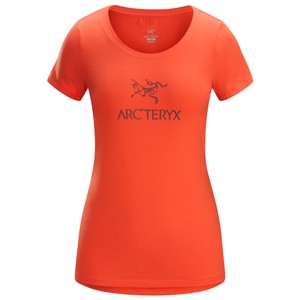 Arcteryx  Arc'word SS T-Shirt Womens in Aurora