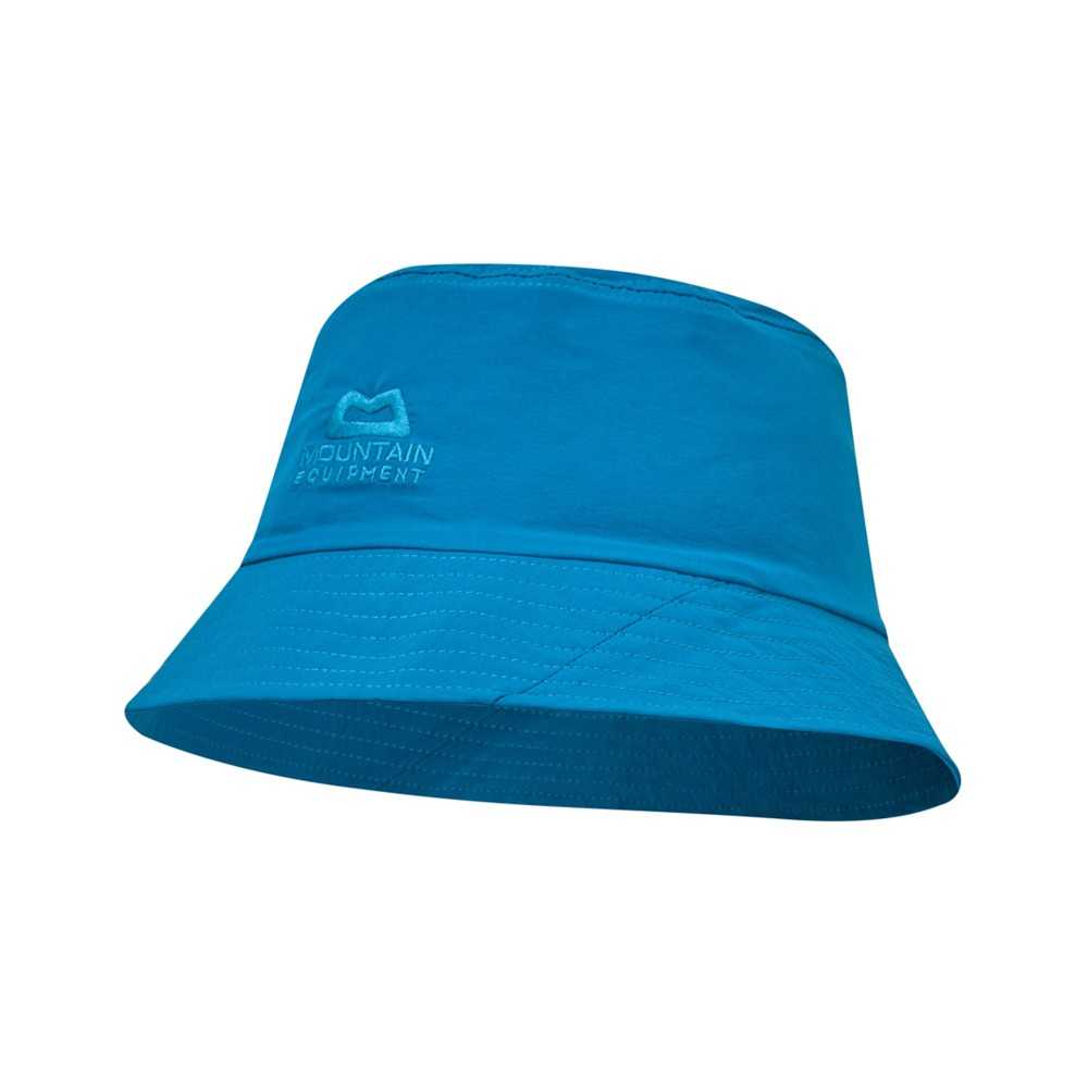 Mountain Equipment Combi Bucket Hat Womens Lagoon Blue