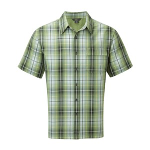 Royal Robbins Plateau Plaid SS Mens