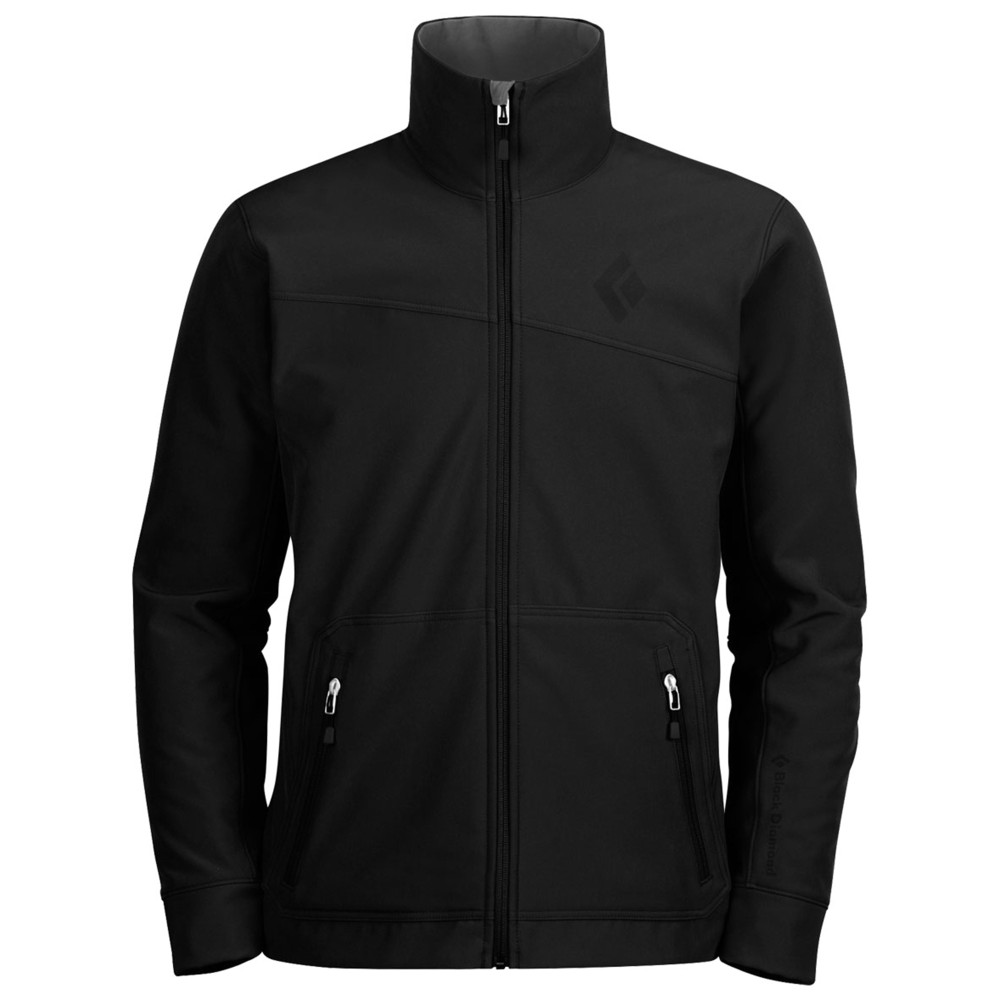Black Diamond Crag Jacket Mens Black