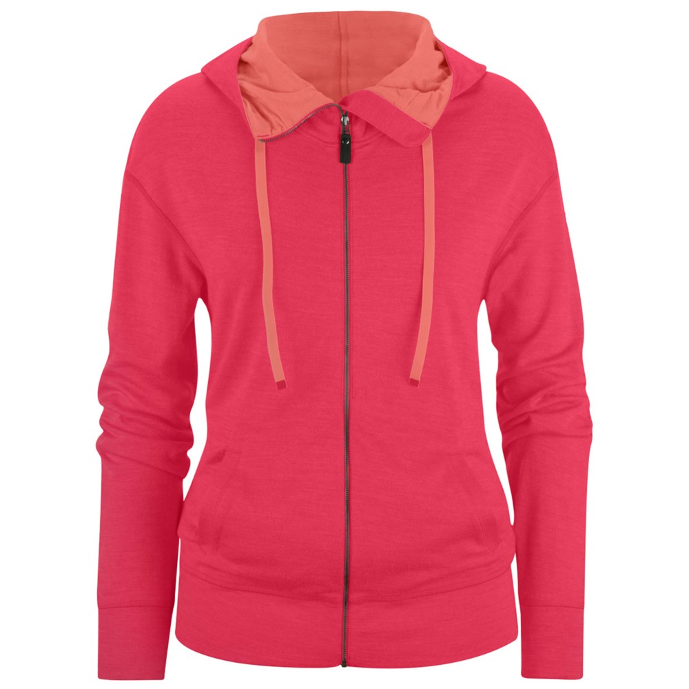 Black Diamond Castle Valley Hoody Womens Rose Red