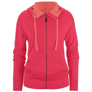 Castle Valley Hoody Womens Rose Red