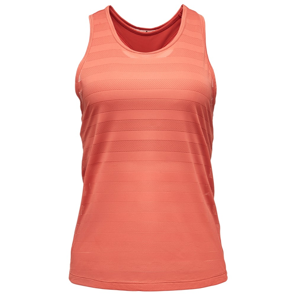 Black Diamond Campus Tank Womens GUAVA/TANDOORI
