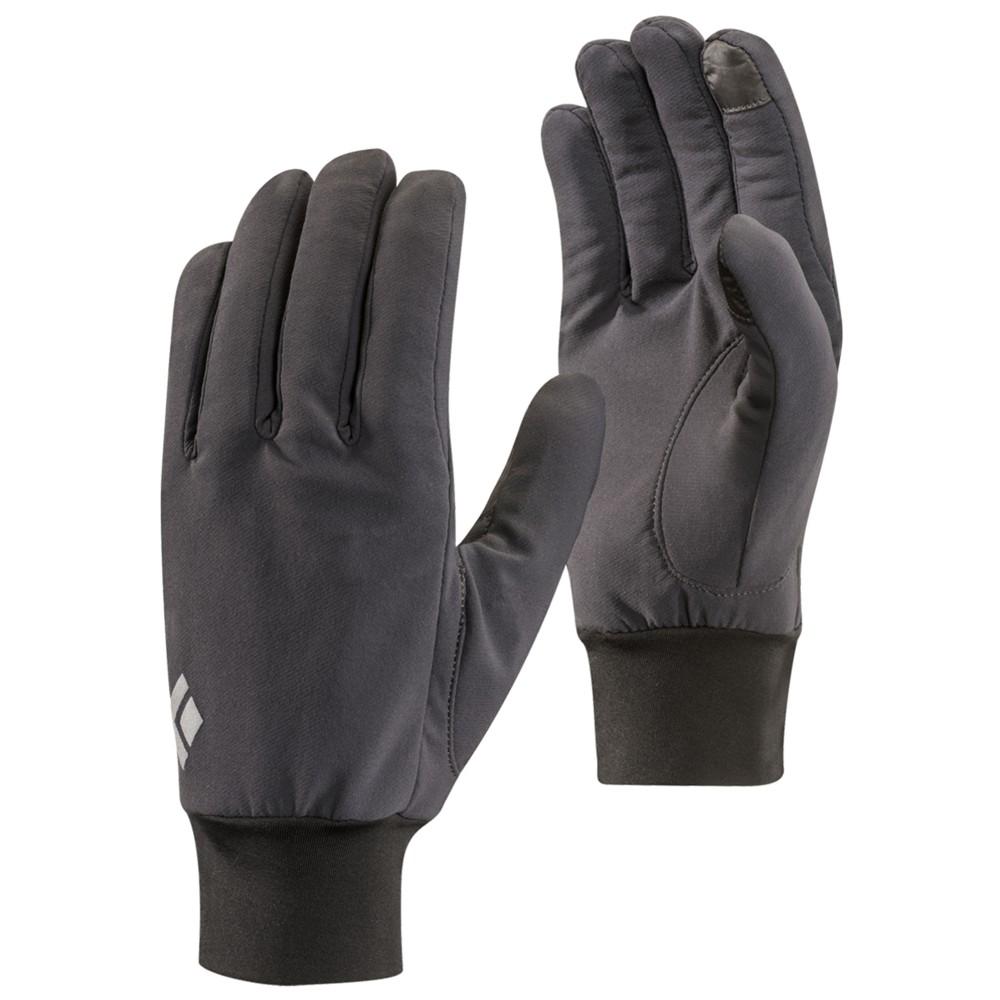 Black Diamond Lightweight Softshell Glove SMOKE