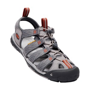Keen Clearwater CNX Mens in Grey Flannel/Potters Clay
