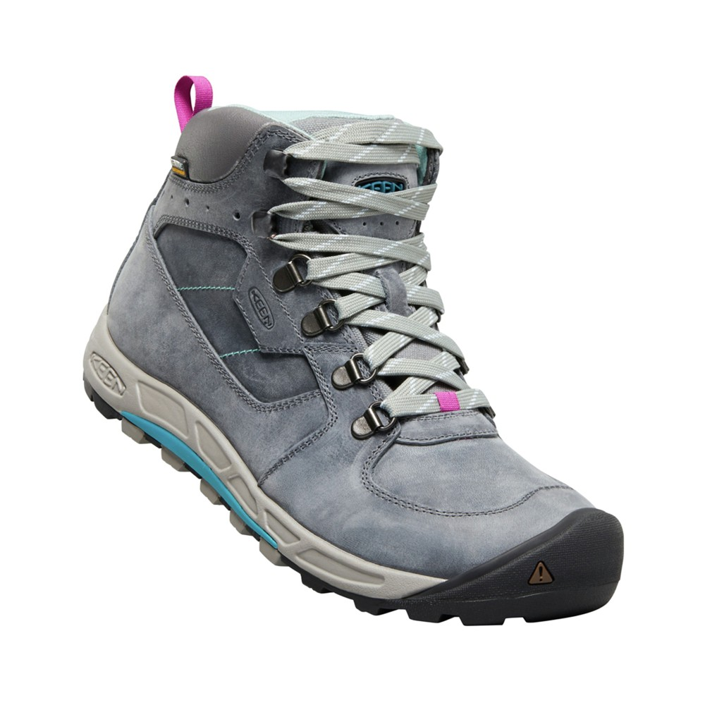 Keen Westward Mid Leather WP Womens Turbulance/Stormy Weather