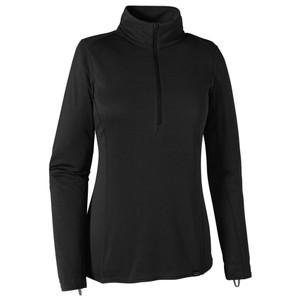 Patagonia Cap MW Zip Neck Womens in Black