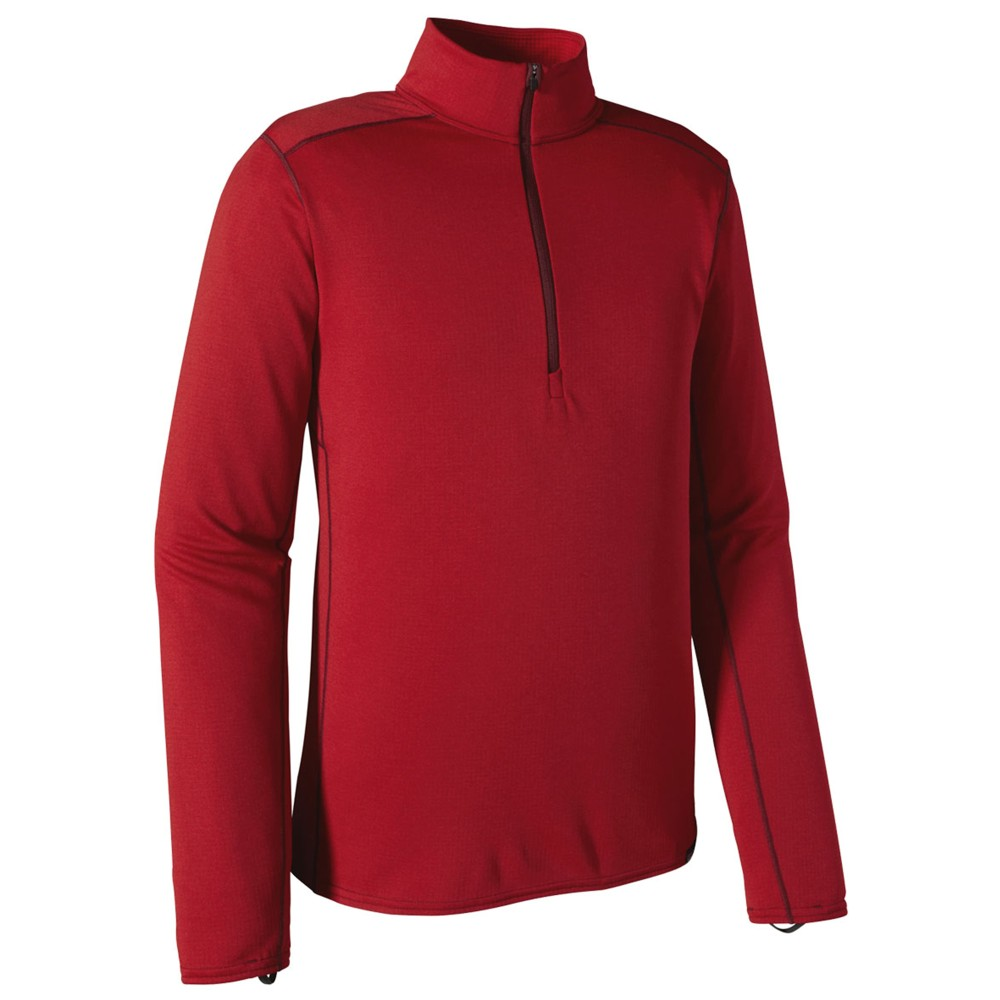 Patagonia Cap MW Zip Neck Womens Classic Red/Sumac Red