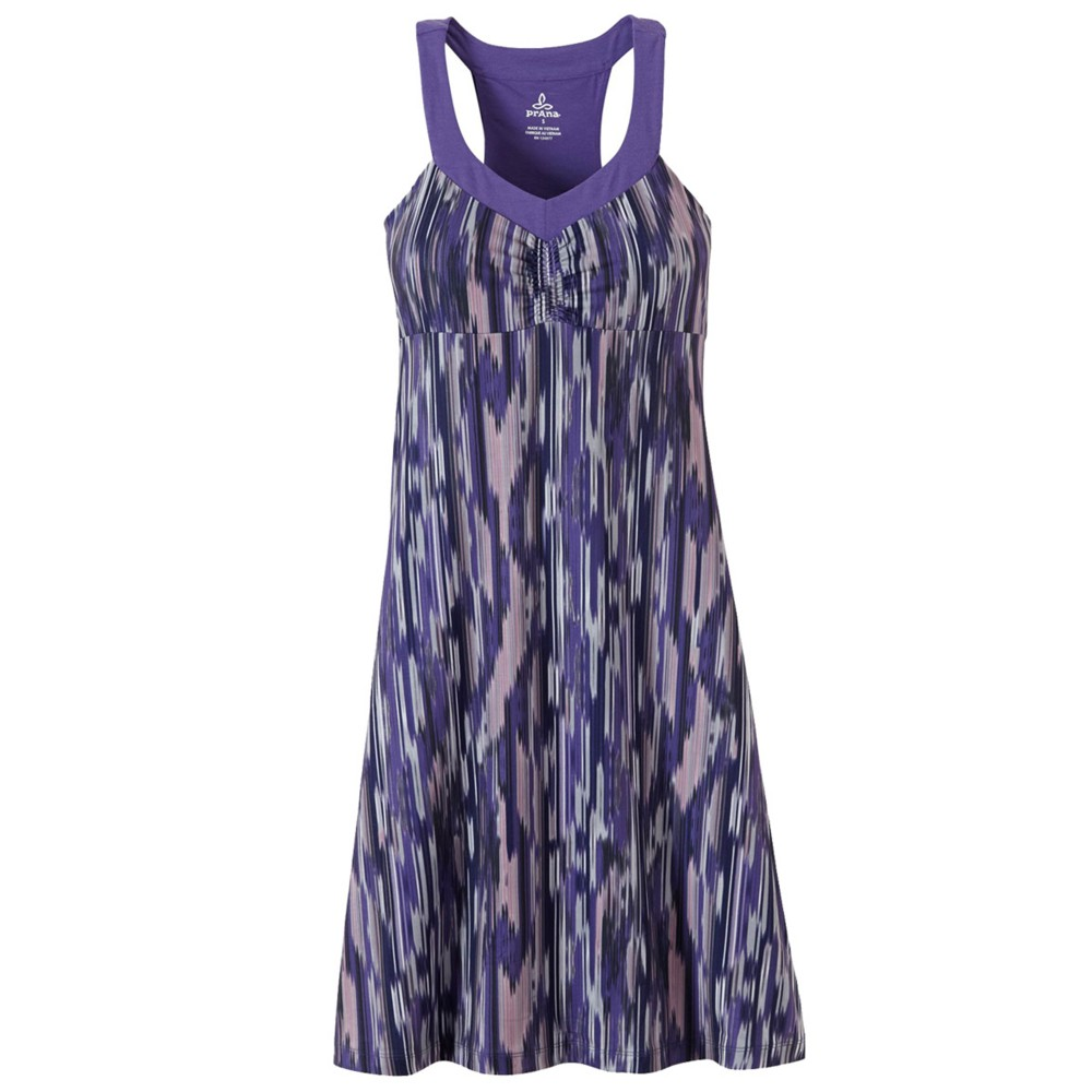 Prana Shauna Dress Womens Violet Rainblur
