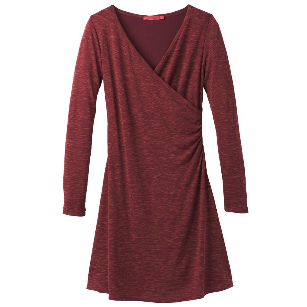 Prana Nadia Dress Womens Nocturnal Red