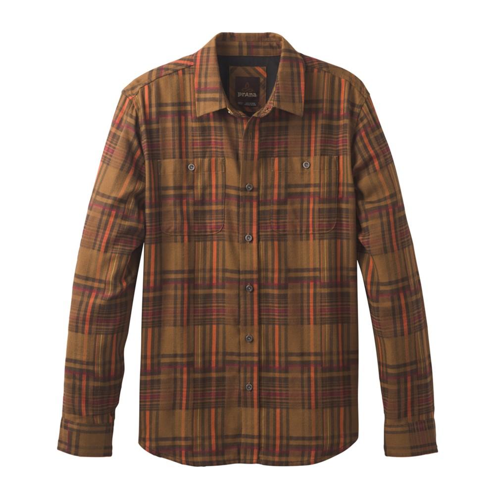 Prana Stratford Shirt Mens Sepia
