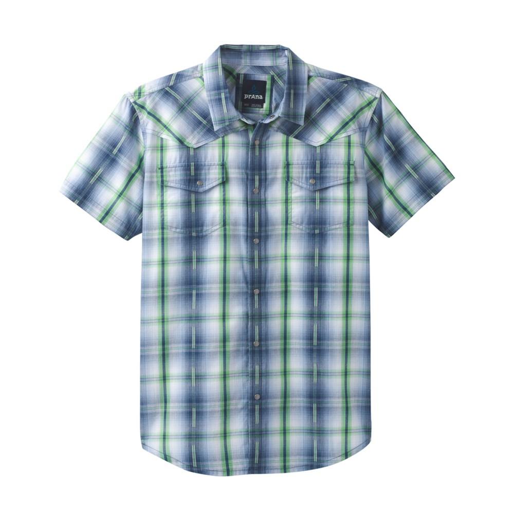 Prana Holstad SS Shirt Equinox Blue