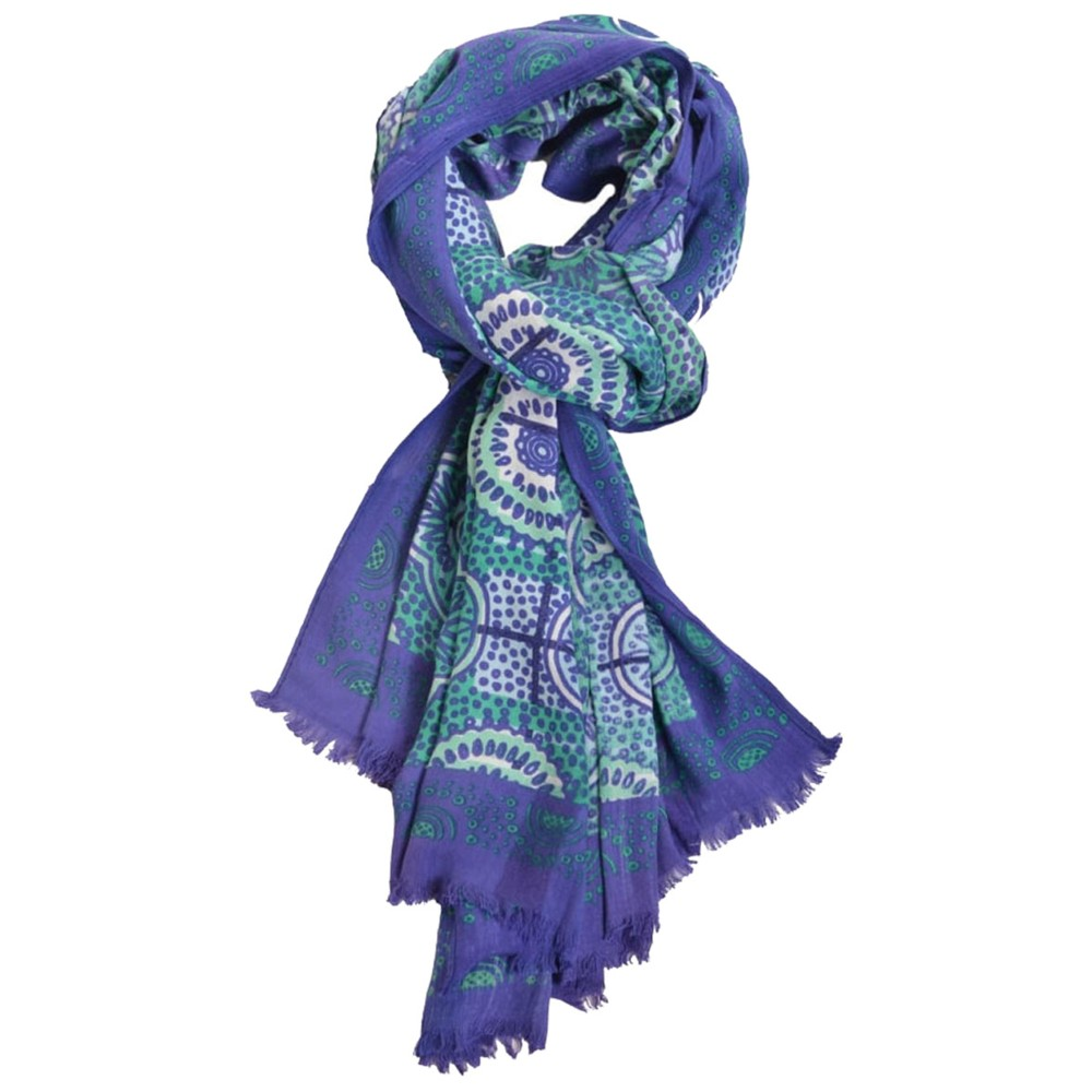 Sherpa Mudra Scarf Langtang Blue