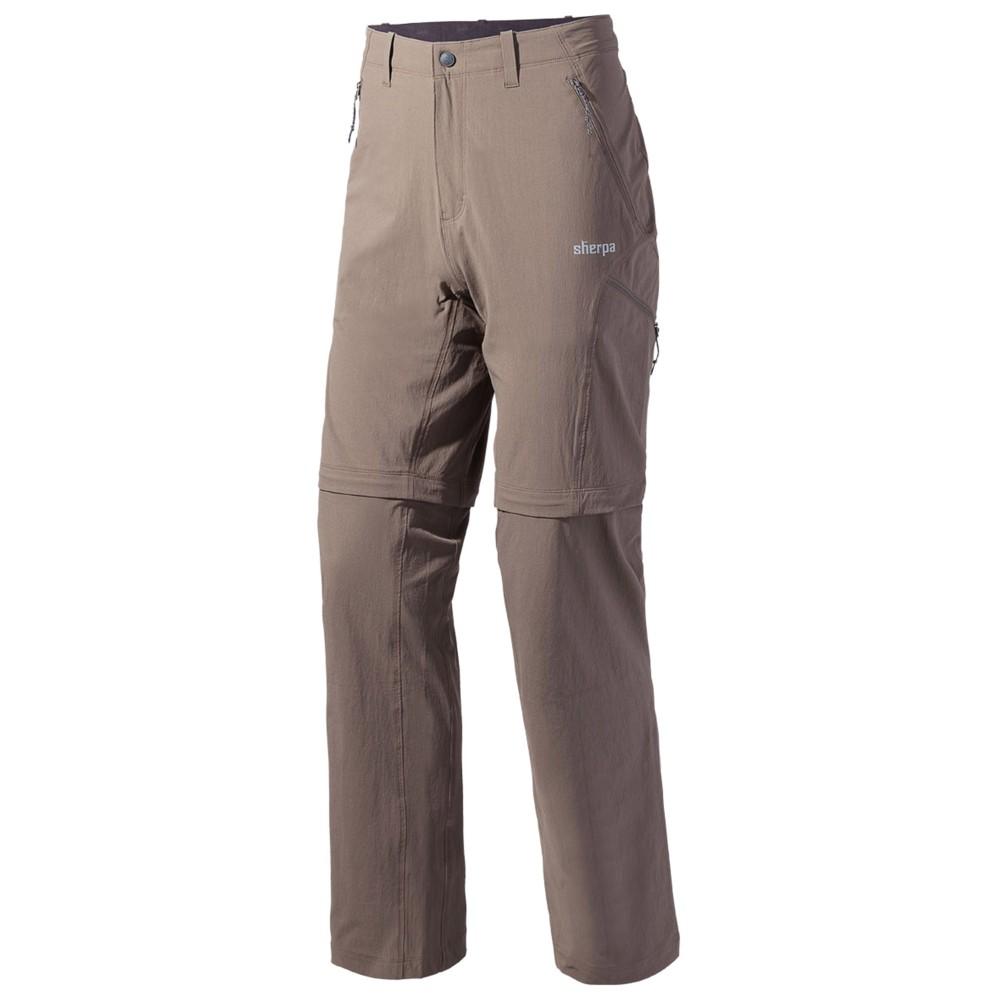 Sherpa Khumbu Convertible Pant Mens Saang Brown