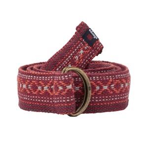 Sherpa Drukyul Woven Belt in Anaar