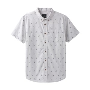 Prana Broderick Embroidery SS Shirt Mens