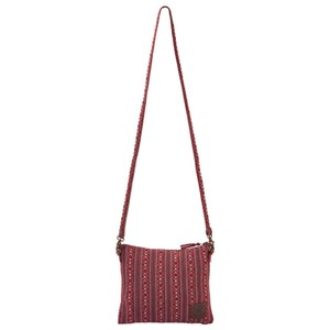 Sherpa Jhola Cross Body Bag in Anaar